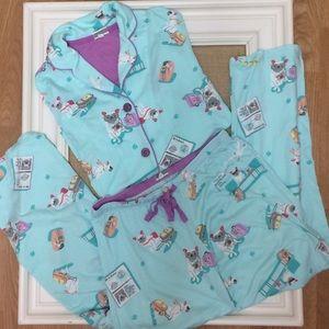 PJ Salvage Intimates & Sleepwear - PJ Salvage dog pajama set